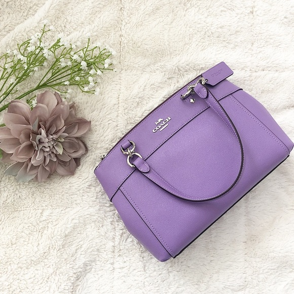 Coach Handbags - Coach Mini Brooke Carryall in Purple